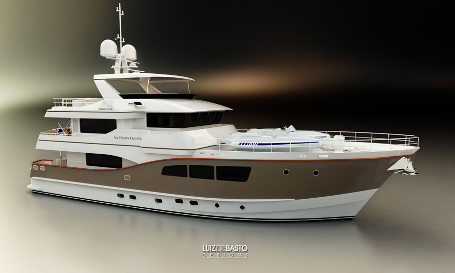 Tricon Marine All Ocean Yachts 90 (Motor Yacht)
