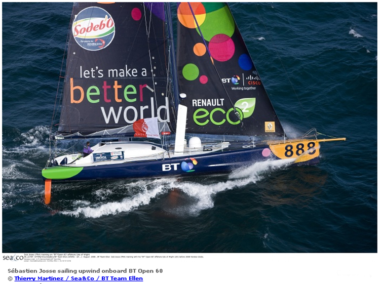 Offshore Challenges Sailing Team <strong>Better World</strong> (Voilier)