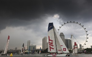 Extreme Sailing Series: Battle intensifies…