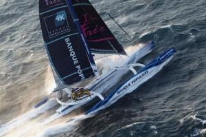 Trophée Jules Verne: Banque Populaire passe le Horn!