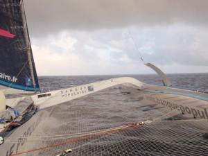 Trophée Jules Verne : Le réveillon en attendant la fête
