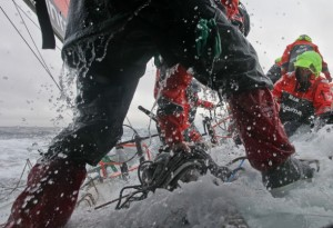 Volvo Ocean Race: Team Sanya heading for eye of the storm
