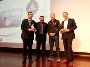Bénéteau Oceanis 45 élu European Yacht of the Year 2012