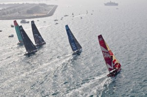 Volvo Ocean Race: Reunited fleet prepare for battle in race to China