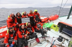 Volvo Ocean Race: The Horn at last for Groupama