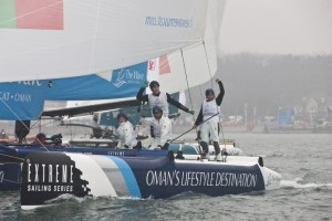 Extreme Sailing Series: Victory for The Wave, Muscat in China