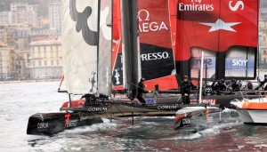 AC World Series: Oracle Racing Spithill closes the gap on kiwis
