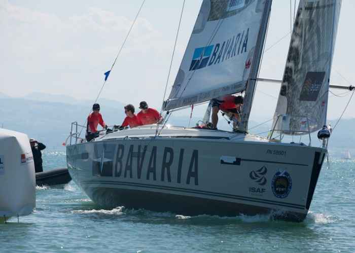 Le World Match Racing Tour enchaine les matchs