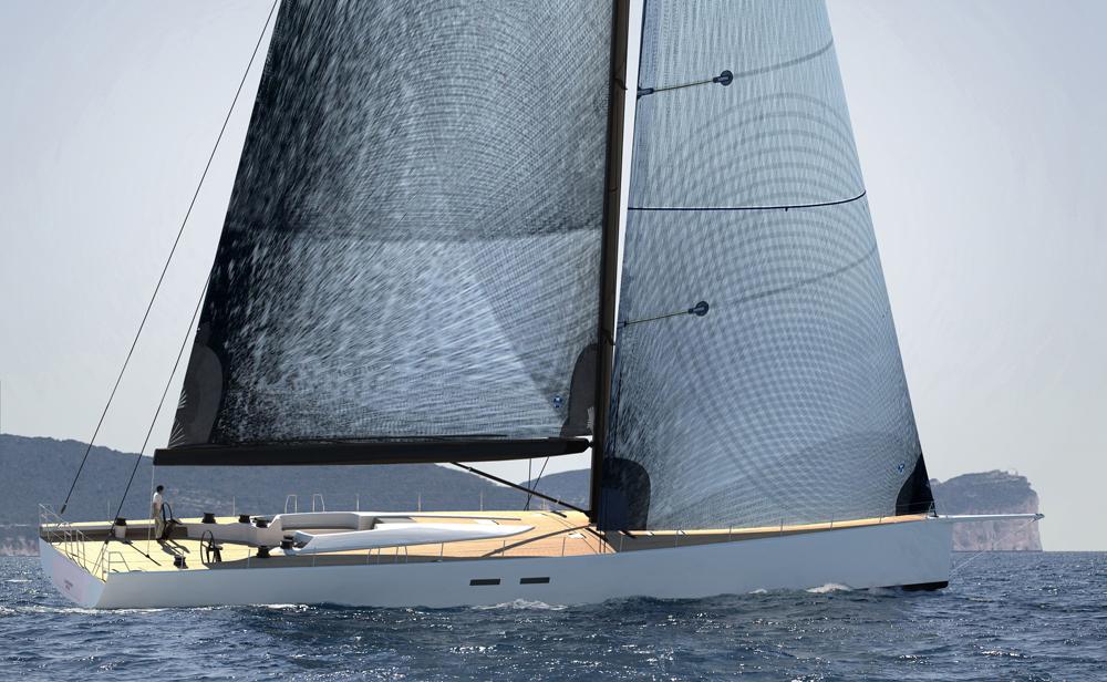 Hamilton: The first WallyCento at sea