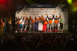 Groupama complete victory in closest ever Volvo Ocean Race