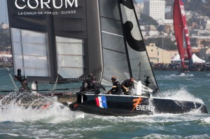 AC World Series: Mixed Emotions for ORACLE TEAM USA