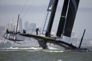 ORACLE TEAM USA 17 Returns to Action