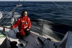 Sam Davies et Savéol retrouvent l'océan : prêts pour la grande aventure !