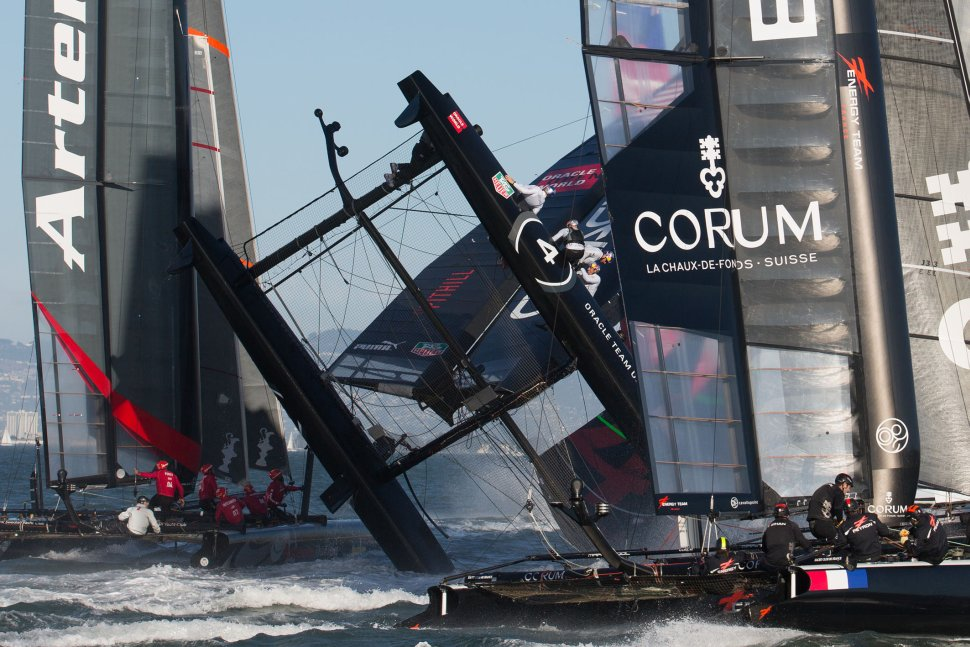 AC World Series: ORACLE TEAM USA SPITHILL wins match racing championship