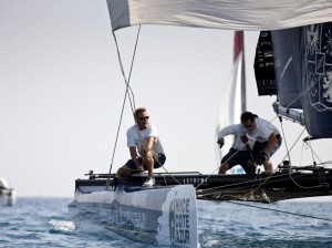 Extreme Sailing Series Nice: Tensions mount…