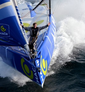 François Gabart, champion of the Vendée Globe with MACIF !