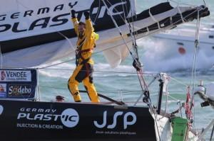 Vendée Globe : Alessandro Di Benedetto, Team Plastique, onzième