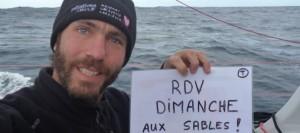Vendée Globe : Tanguy de Lamotte, Initiatives-cœur, dixième