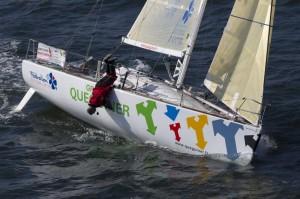 Transat Bretagne-Martinique : Yann Eliès et Groupe Quéguiner-Leucémie Espoir contraints à l'abandon
