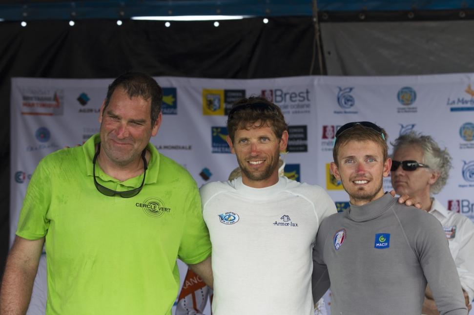 Transat Bretagne-Martinique : le podium en une journée!