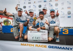 Alpari WMRT : First time victory in Germany for Ian Williams