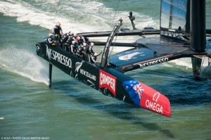 Louis Vuitton Cup : Emirates Team New Zealand continues to impress