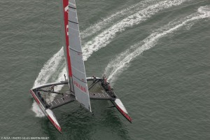 Louis Vuitton Cup : Luna Rossa Challenge scores one for the board