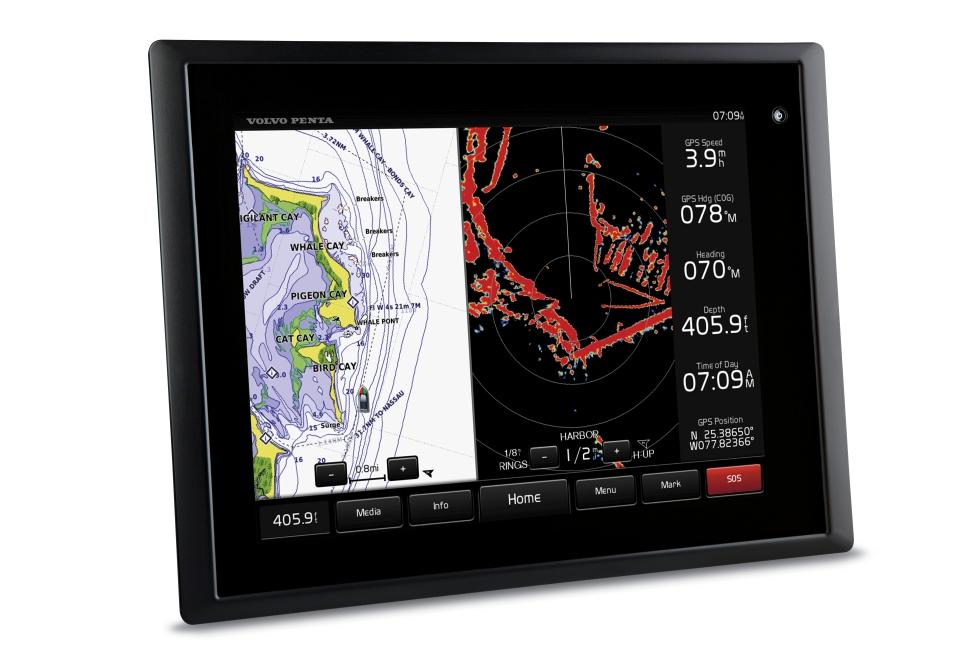 Système Glass Cockpit de Volvo Penta : la nouvelle passerelle multifonctions signée par Garmin et Volvo Penta