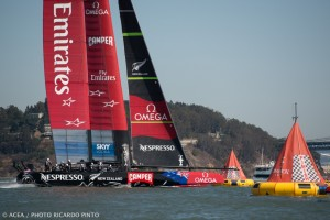 America's Cup : Emirates Team New Zealand sweeps two from ORACLE TEAM USA
