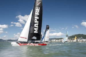 Extreme Sailing Series™ Florianópolis stadium delivers 'best racing of the year' on opening day