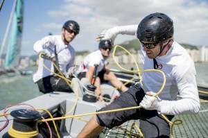Extreme Sailing Series : Alinghi win in Brazil – The Wave, Muscat clinch 2013 crown in final race