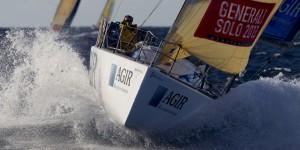 Adrien Hardy sur AGIR Recouvrement : « Je vise la victoire sur la Solitaire du Figaro 2014 »