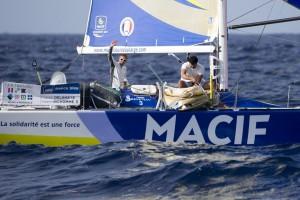 Transat AG2R – LA MONDIALE : Skipper Macif et Safran-Guy Cotten sur le ring