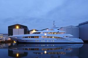 Heesen Yachts has launched MY Monaco Wolf