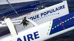 """Le Maxi Solo Banque Populaire VII prépare son """"stand by"""" à New York"""