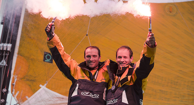 GDF SUEZ, vainqueur d'une Normandy Channel Race d'anthologie !