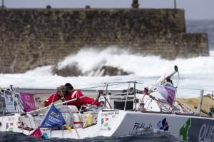 Solitaire du Figaro : Eliès démâte, Dalin et Beyou s'échappent