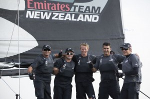 Extreme Sailing Series : Emirates Team New Zealand contrarie la domination d'Alinghi et de The Wave, Muscat