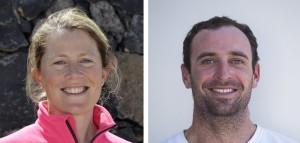 Sam Davies et Sébastien Marsset sur la Volvo Ocean Race