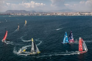 Volvo Ocean Race : 48 hours from the start gun
