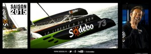 Pour la quatrième fois, Sodebo sera le parrain officiel du Vendée Globe 2016
