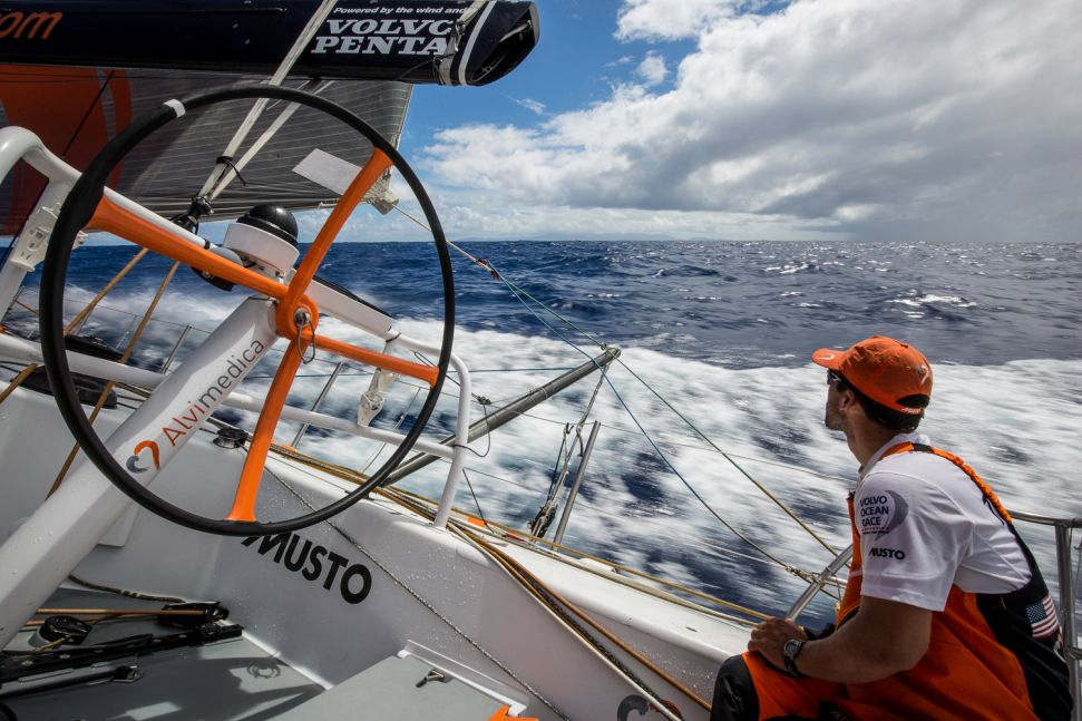 "Volvo Ocean Race : ""So close, but still so far"""