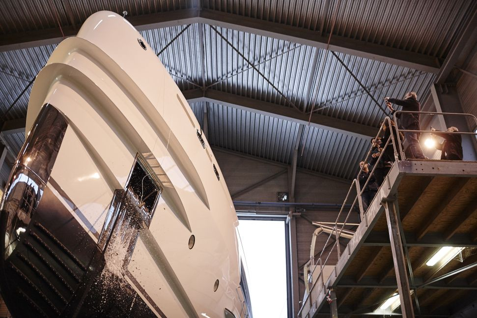 Heesen Yachts launched 50m fully custom FDHF, M/Y Sibelle