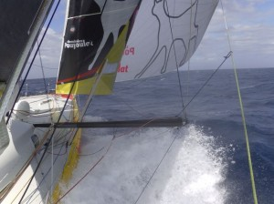 Barcelona World Race : Circle Time: 5000 Miles To Go