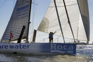 Barcelona World Race : We Are Water cinquième…