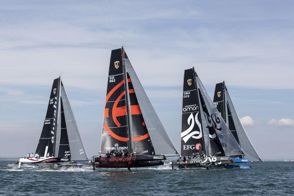 Les Extreme Sailing Series™ passent aux foils: les GC32 remplaceront les Extreme 40 pour la saison 2016