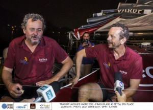 Transat Jacques Vabre : Un trio en bataille jusqu'au bout