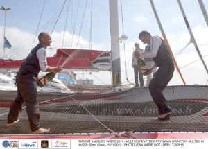 Transat Jacques Vabre : Deux nouveaux vainqueurs à Itajaí !