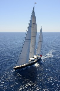 Royal Huisman Sailing Yacht ANTARES Offered For Sale