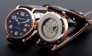 Les montres automatiques Grayton arrivent en France
